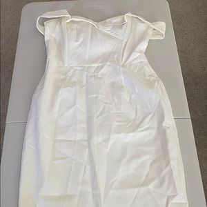 Lavish Alice white dress